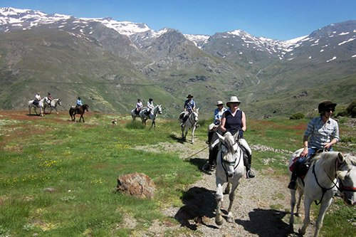 Go horse riding in the high Alpujarras mountains of Andalucia